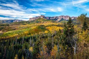Бесплатные фото San Juan Mountains,Colorado,осень,горы,деревья,лес,пейзаж
