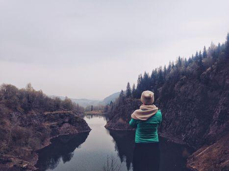 Фото бесплатно горные формы рельефа, озеро, вид