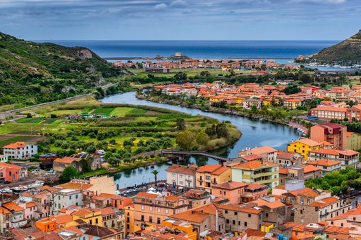 Photo free sea, cities, houses