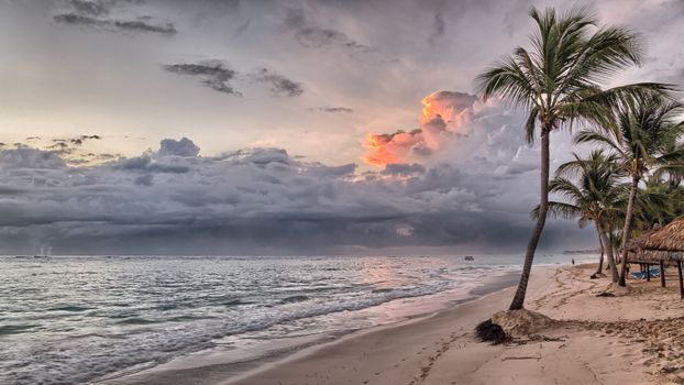 Photo free beach, Dominican Republic, Caribbean bassein
