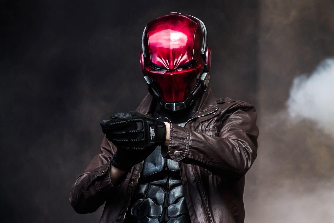 Фото красная маска косплей супергерои - бесплатные картинки на Fonwall
