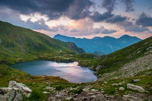 Фото бесплатно нагорье, пейзаж, Альпы