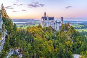 Бесплатные фото Замок Нойшванштайн,Бавария,Швангау,Германия
