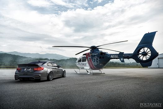 Photo free BMW, cars, helicopter