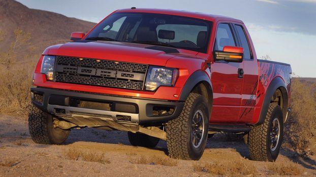 Photo free Ford Raptor, car, impassability