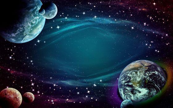 Фото бесплатно фон, пространство, небо