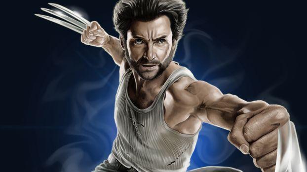 Заставки Digital Art, Wolverine, произведения искусства