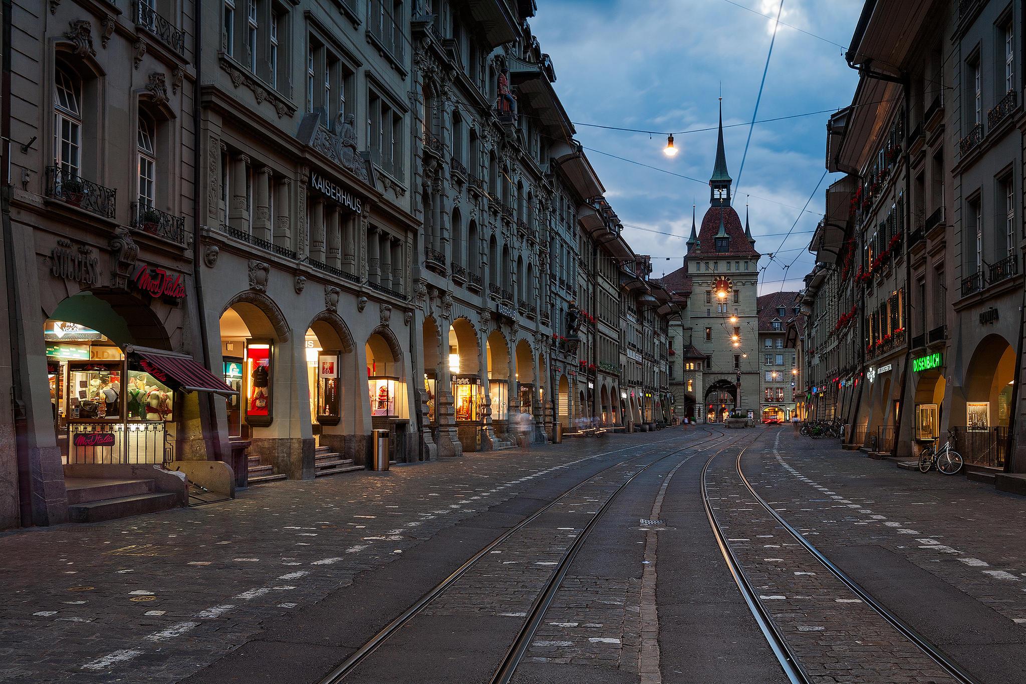Часовая башня Циттглогге, Берн, Швейцария
