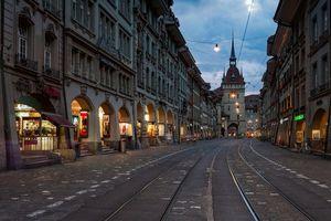 Фото бесплатно Часовая башня Циттглогге, Берн, Швейцария
