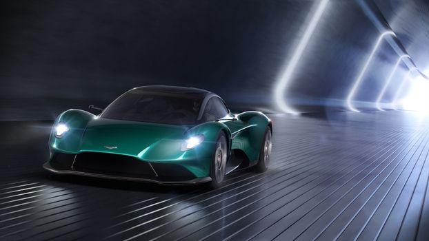 Photo free Aston Martin, Aston Martin Vanquish Vision, 2019 cars