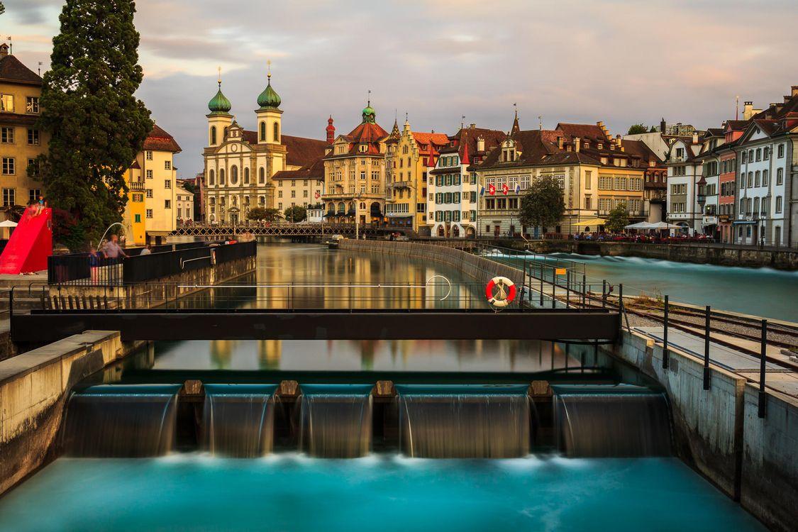 Фото бесплатно Люцерн, Швейцария - на рабочий стол