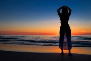 Photo free beach, Miami, ocean