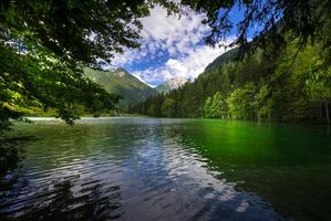 Обои Озеро Блед, Словения, пейзаж