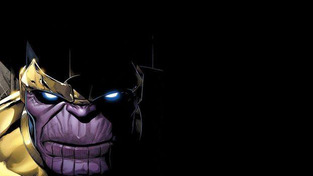 Заставки Thanos, герой, рисунок