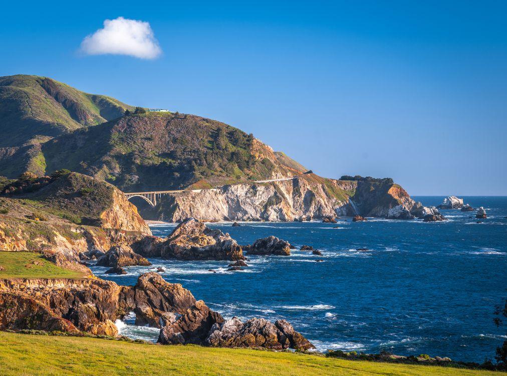 Фото океан прибрежный океан побережье - бесплатные картинки на Fonwall