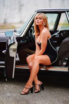 Photo free woman, cars, blonde