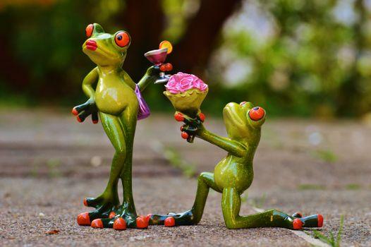 Фото бесплатно статуэтки, лягушка, лягушки