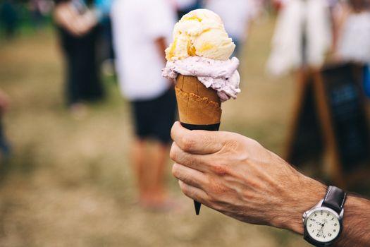 Photo free ice cream, free images, wrist