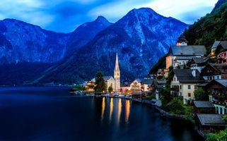 Бесплатные фото Гальштат, Хальштатт, Австрия