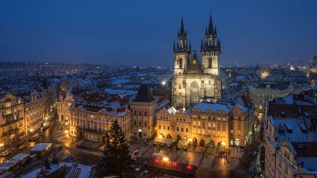 Фото бесплатно историческое здание, ночь, город