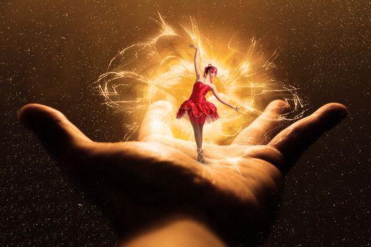 Photo free palm, ballerina, hand
