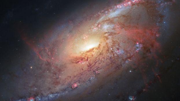 Фото бесплатно галактика, скопление звезд, туманность
