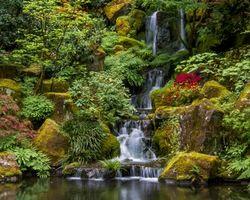 Заставки Портлендский Японский Сад, Портленд, Орегон