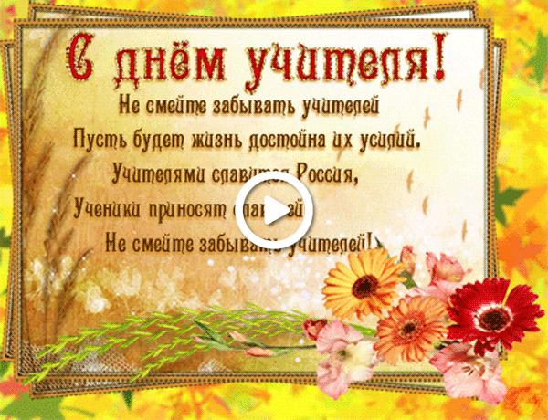 Postcard free happy teacher`s day animation, holidays, postcard