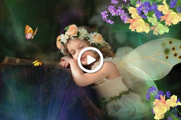 Postcard free magical dreams animation, miscellaneous, lass