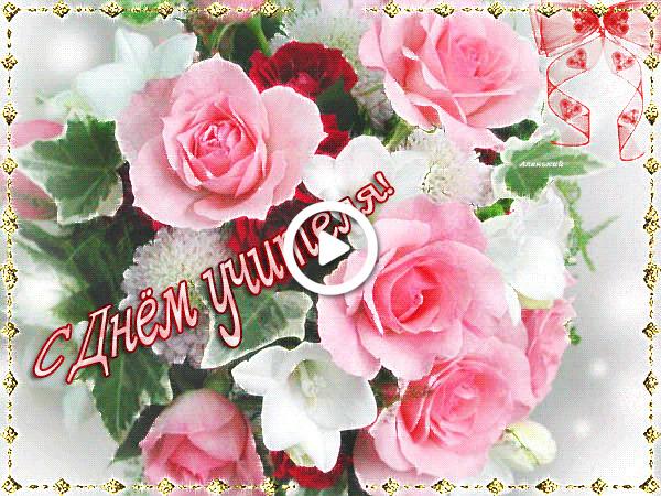 Postcard free roses, flowers, postcard